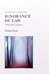 Ignorance of LawA Philosophical Inquiry$