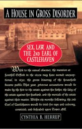 A House in Gross DisorderSex, Law, and the 2nd Earl of Castlehaven$