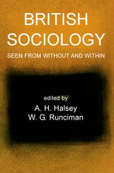British Sociology Seen from Without and Within | British Academy Scholarship Online
