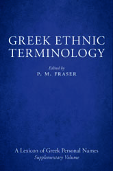 Greek Ethnic Terminology | British Academy Scholarship Online