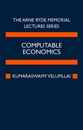 Computable EconomicsThe Arne Ryde Memorial Lectures$