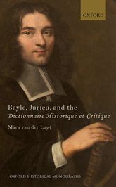 Bayle, Jurieu, and the Dictionnaire Historique et Critique$