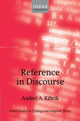 Reference in Discourse$