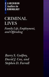 Criminal LivesFamily Life, Employment, and Offending$
