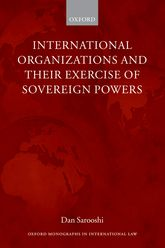 International Organizations and their Exercise of Sovereign Powers$