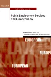 Public Employment Services and European Law$