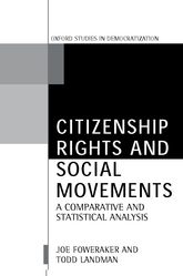 Citizenship Rights and Social MovementsA Comparative and Statistical Analysis$