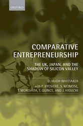 Comparative EntrepreneurshipThe UK, Japan, and the Shadow of Silicon Valley$